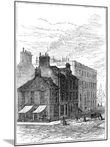 Birthplace of James Watt Shortly before it Was Demolished, 1887--Mounted Giclee Print
