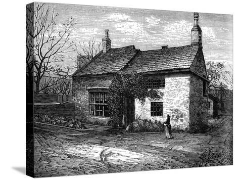 The Old Manor-House, Morley, Leeds, West Yorkshire, Bithplace of Sir Titus Salt, C1880--Stretched Canvas Print