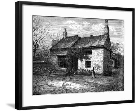 The Old Manor-House, Morley, Leeds, West Yorkshire, Bithplace of Sir Titus Salt, C1880--Framed Art Print