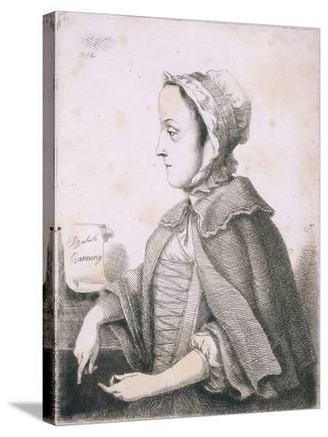 Elizabeth Canning, Malefactor, C1753--Stretched Canvas Print