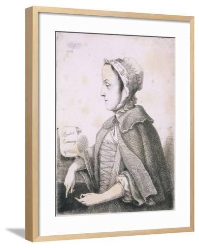 Elizabeth Canning, Malefactor, C1753--Framed Art Print