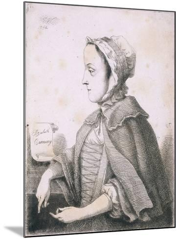 Elizabeth Canning, Malefactor, C1753--Mounted Giclee Print