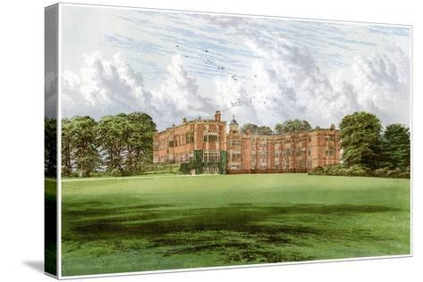 Temple Newsam, Home of the Meynell-Ingram Family, C1880-Benjamin Fawcett-Stretched Canvas Print