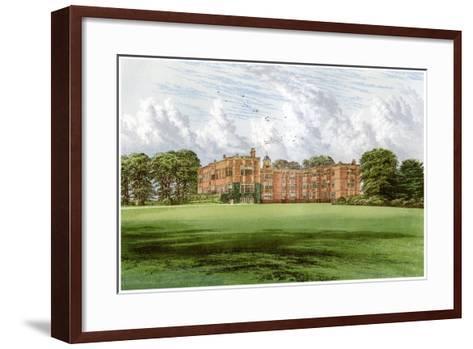 Temple Newsam, Home of the Meynell-Ingram Family, C1880-Benjamin Fawcett-Framed Art Print