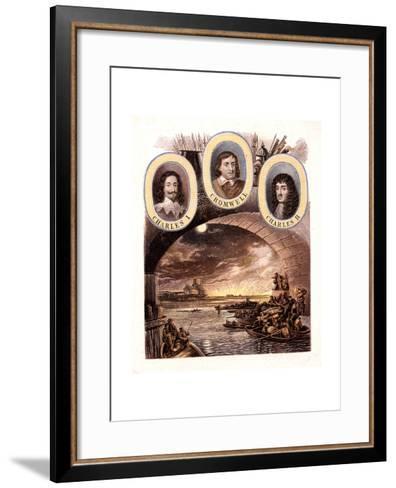 Great Fire of London, 1666-Kronheim & Co-Framed Art Print