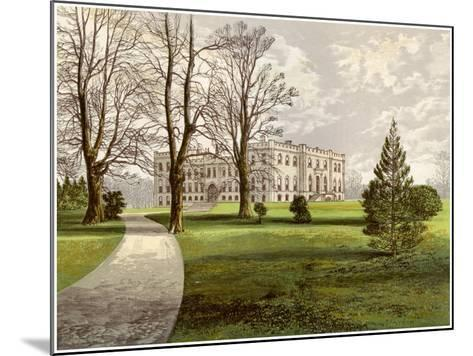 Kimbolton Castle, Huntingdonshire, Home of the Duke of Manchester, C1880-AF Lydon-Mounted Giclee Print