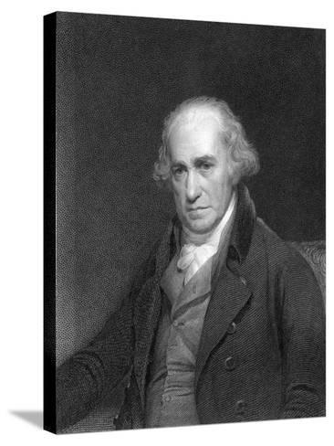 James Watt, Scottish Engineer and Inventor, 1833--Stretched Canvas Print