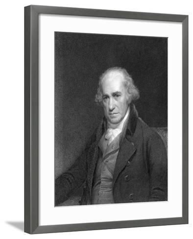 James Watt, Scottish Engineer and Inventor, 1833--Framed Art Print