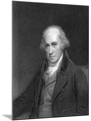 James Watt, Scottish Engineer and Inventor, 1833--Mounted Giclee Print