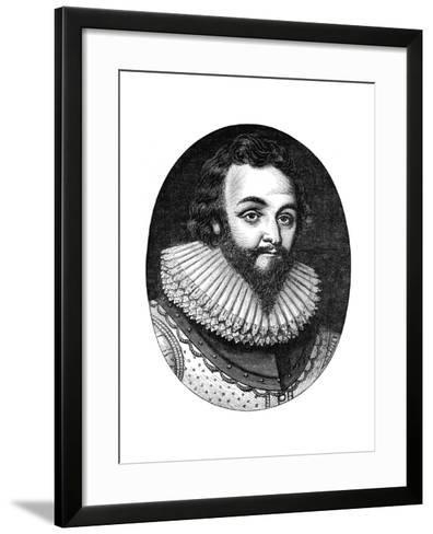 Sir Francis Drake, 16th Century English Navigator and Privateer, C1880--Framed Art Print