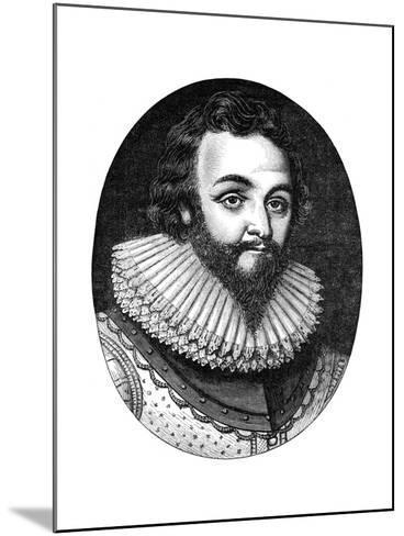 Sir Francis Drake, 16th Century English Navigator and Privateer, C1880--Mounted Giclee Print