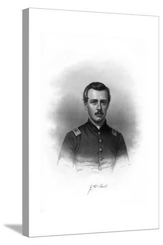 John William Grout, American Soldier--Stretched Canvas Print