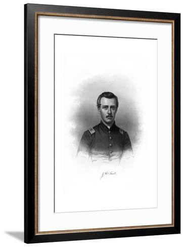 John William Grout, American Soldier--Framed Art Print