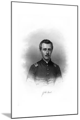 John William Grout, American Soldier--Mounted Giclee Print
