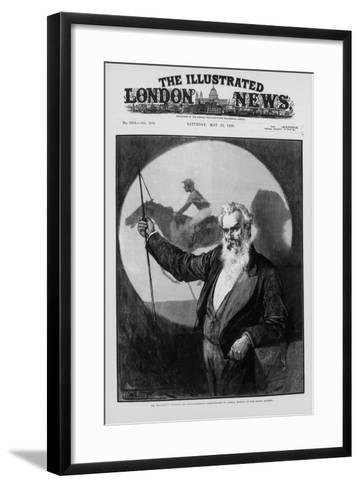 Eadweard James Muybridge, British-American Photography Pioneer, 1889--Framed Art Print