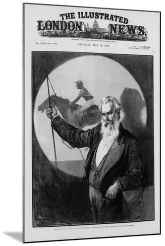 Eadweard James Muybridge, British-American Photography Pioneer, 1889--Mounted Giclee Print