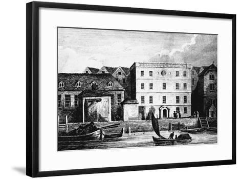 Headquarters of the Hanse Merchants or Esterlings in London, 1667--Framed Art Print