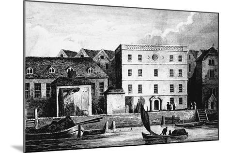 Headquarters of the Hanse Merchants or Esterlings in London, 1667--Mounted Giclee Print