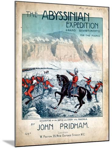 The Abyssinian Expedition, 1868--Mounted Giclee Print