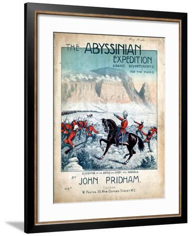 The Abyssinian Expedition, 1868--Framed Art Print