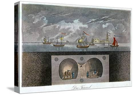 Thames Tunnel, C1830--Stretched Canvas Print