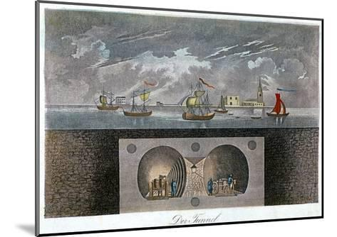 Thames Tunnel, C1830--Mounted Giclee Print