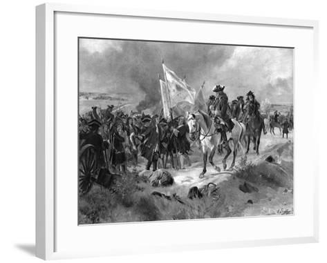 The Battle of Ramillies, 1706-Henri-Louis Dupray-Framed Art Print