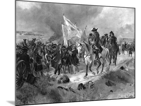 The Battle of Ramillies, 1706-Henri-Louis Dupray-Mounted Giclee Print