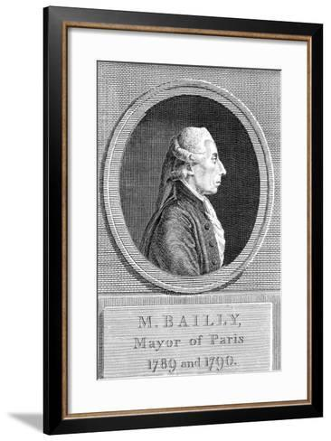 Jean Sylvain Bailly (1736-179), French Astronomer, Writer and Politician--Framed Art Print