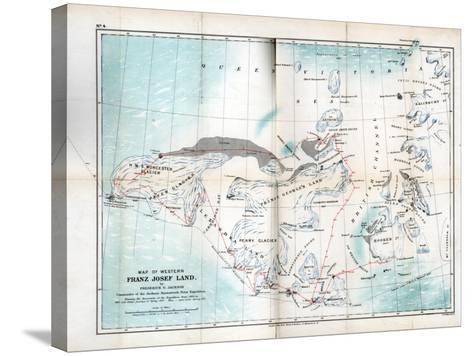 Western Franz Josef Land, 1899--Stretched Canvas Print