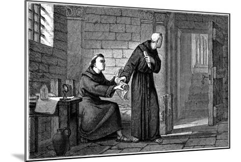 Roger Bacon, English Experimental Scientist, Philosopher and Franciscan Friar--Mounted Giclee Print