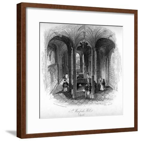 St Winifrede's Well, Holywell, Flintshire, Wales--Framed Art Print