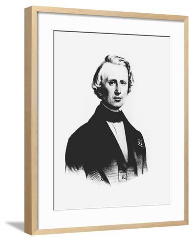Ujj Leverrier, French Astronomer Who Calculated the Position of Planet Neptune in 1846--Framed Art Print