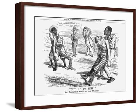 Not Up to Time, 1862--Framed Art Print