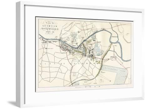 Siege of Lucknow, India, 1857--Framed Art Print
