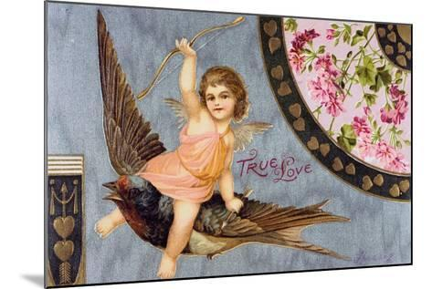 True Love, American Valentine Card, 1908--Mounted Giclee Print