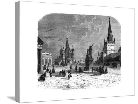 Krusnaya Place, Moscow, C1890--Stretched Canvas Print