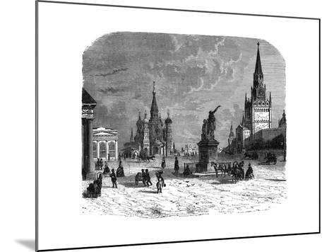 Krusnaya Place, Moscow, C1890--Mounted Giclee Print
