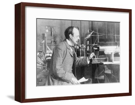 Sir Joseph John Thomson, Physicist and Inventor, 1900--Framed Art Print