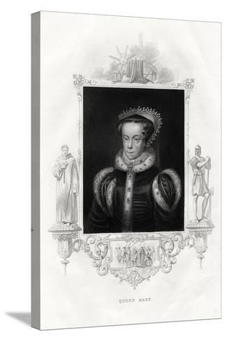 Mary I (1516-155), also known as Mary Tudor, 1860--Stretched Canvas Print