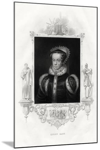 Mary I (1516-155), also known as Mary Tudor, 1860--Mounted Giclee Print