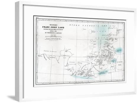 Western Franz Josef Land, 1896--Framed Art Print