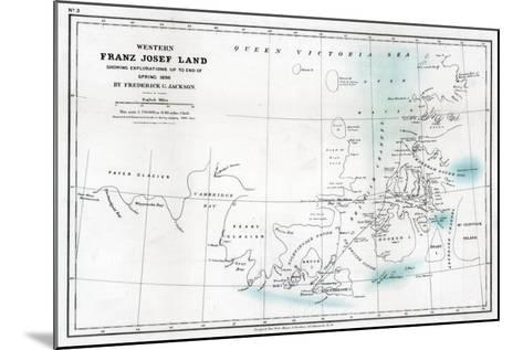 Western Franz Josef Land, 1896--Mounted Giclee Print