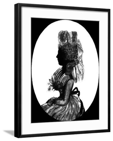 Georgiana, Duchess of Devonshire--Framed Art Print