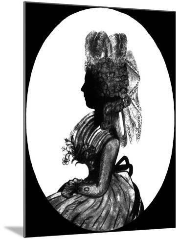 Georgiana, Duchess of Devonshire--Mounted Giclee Print