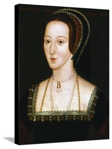 Anne Boleyn, Second Wife of Henry VIII, C1520-1536--Stretched Canvas Print