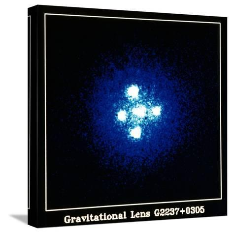 Gravitation Lens--Stretched Canvas Print