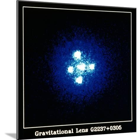 Gravitation Lens--Mounted Giclee Print