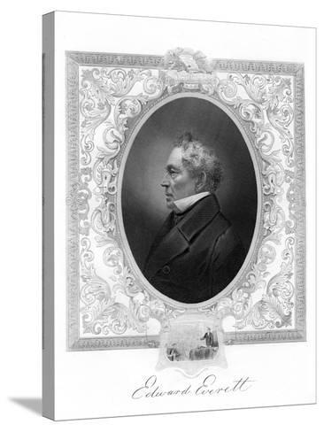 Edward Everett, American Whig Party Politician from Massachusetts, 1862-1867--Stretched Canvas Print