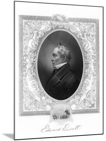 Edward Everett, American Whig Party Politician from Massachusetts, 1862-1867--Mounted Giclee Print